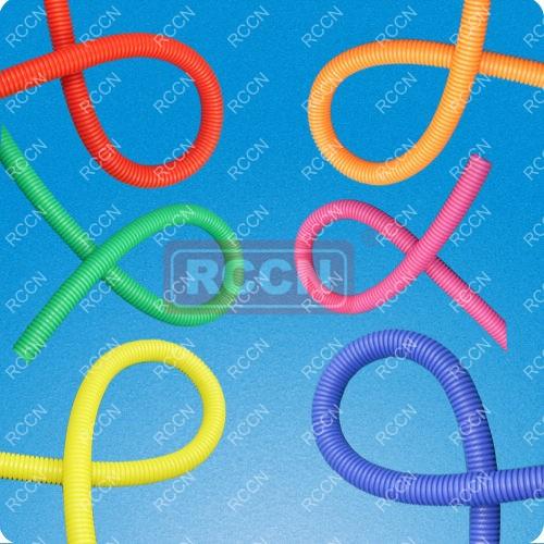 塑料波纹管用于汽车机动车线束护线,也可用于电器、机械设备穿线保护