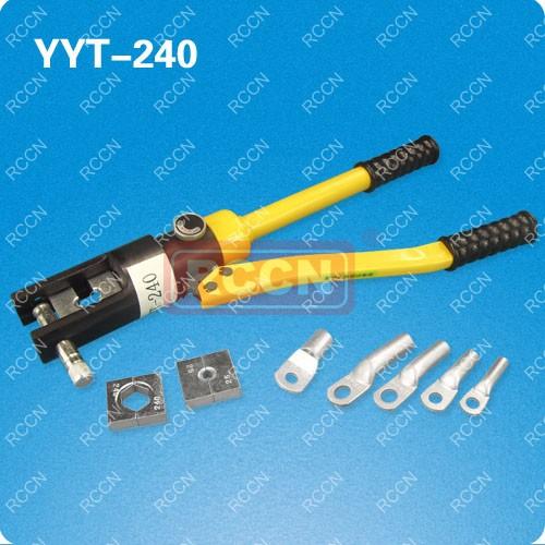 日成裸端子液压钳yyt-240图片